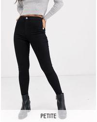 Topshop Unique Joni Skinny Jeans - Black