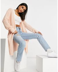 Missguided Oversized Cardigan - Pink