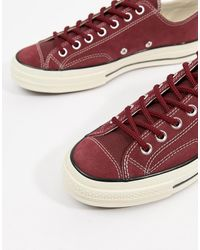 Converse – Chuck Taylor All Star '70 Ox – Sneaker - Rot