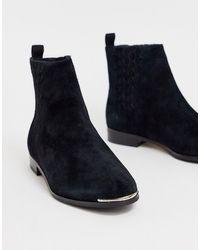 Ted Baker - Кожаные Ботинки На Плоской Подошве Iveca - Lyst