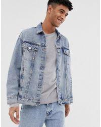 0e6ef8623 Oversize Denim Jacket In Light Blue