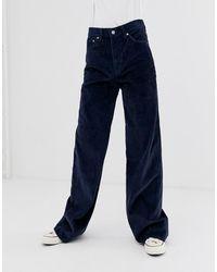 Levi's Ribcage - Jean large - marine - Bleu