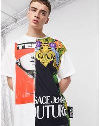 Versace Jeans Couture - Белая Футболка -белый - Lyst