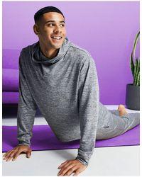 ASOS 4505 Yoga Hoodie - Grey