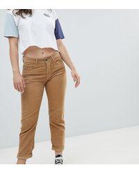 4d4c86d08c93b Braune Mom-Jeans aus Cord
