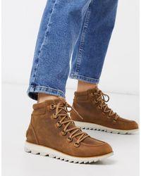 Sorel Светло-коричневые Водонепроницаемые Ботинки Со Шнуровкой -светло-коричневый - Многоцветный