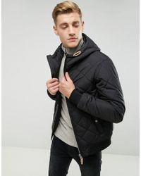 Esprit - Quilted Jacket With Hood - Lyst