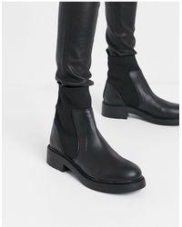 Bershka Chelsea Boot - Black