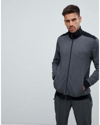BOSS - Bodywear Zip Through Track Jacket - Lyst