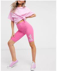 ASOS Mix & Match Barbie Pyjama legging Short - Pink