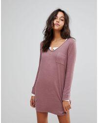 Abercrombie & Fitch Cozy Dress - Pink
