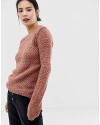Ichi Jersey texturizado - Rosa