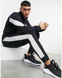 adidas Originals Черно-белый Спортивный Костюм Adidas Training-черный Цвет