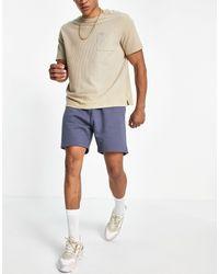 Weekday Standard Set Jersey Shorts - Blue