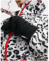 ASOS 4505 Лыжные Перчатки Из Плотного Флиса -черный