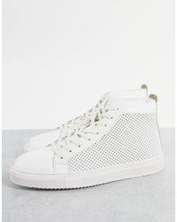 Dune Vittorio - Sneakers alte - Bianco