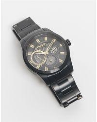 HUGO Mens Bracelet Watch - Black