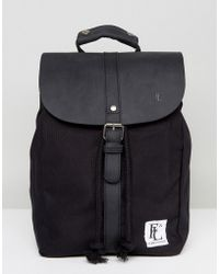 Forbes & Lewis - Leather Littlehampton Backpack In Black - Lyst