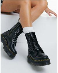 Dr. Martens - Черные Ботинки Jadon Hi-черный Цвет - Lyst