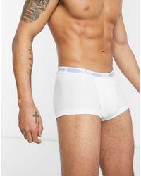 ASOS Short Trunk - White