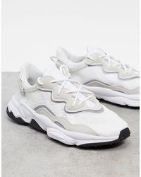adidas Originals Белые Кроссовки Ozweego-белый