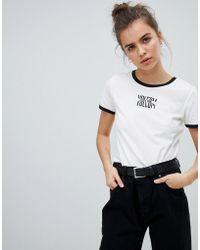 Volcom - T Shirt In White - Lyst