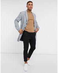 Jack & Jones - Светло-серое Пальто Premium-серый - Lyst