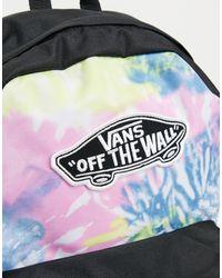 Vans Разноцветный Рюкзак С Принтом Тай-дай Realm-многоцветный
