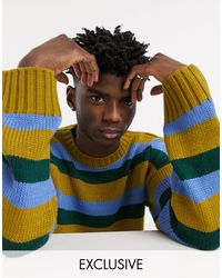 Reclaimed (vintage) Inspired Sweater - Multicolor