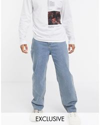 Collusion X014 - Jeans larghi anni '90 blu vintage