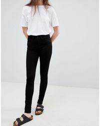 WÅVEN Asa Mid Rise Skinny Jeans - Black