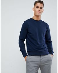 Jack & Jones Essentials - Sweat-shirt ras - Bleu