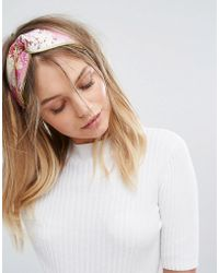 New Look - Jaquard Hairband - Lyst
