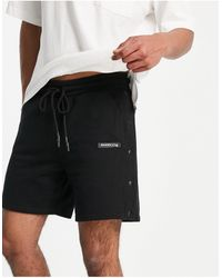 The Couture Club Jersey Shorts - Black