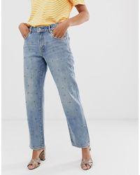 Sass & Bide Jeans con strass - Blu