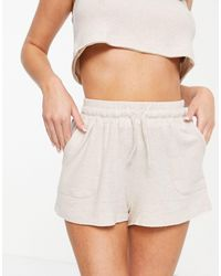 TOPSHOP Shorts color avena - Multicolor