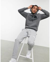 The North Face Drew Peak Pullover Hoody - Gray