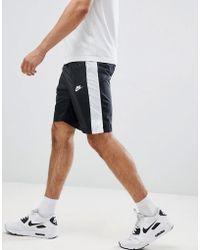 Nike - Woven Logo Shorts In Black 927994-011 - Lyst