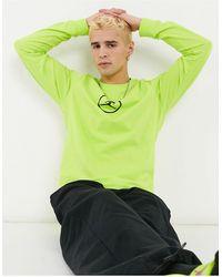 Nike Nike – Sport DNA – Langärmliges Shirt - Grün