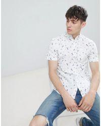 D-Struct - Coney Island Short Sleeve Shirt - Lyst