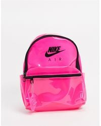 Air Translucent Pink Mini Backpack
