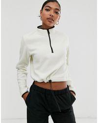 ASOS Fleece With Zip - Multicolour