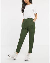 ASOS Pantaloni multitasche - Verde