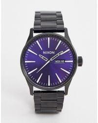 Nixon Sentry Bracelet Watch 42mm - Gray