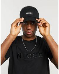 Nicce London Черная Кепка С Логотипом -черный