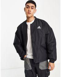 adidas Originals - Черная Утепленная Куртка-дождевик Adidas Outdoors Terrex-черный Цвет - Lyst