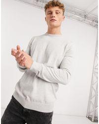 New Look Crew Neck Jumper - Grey