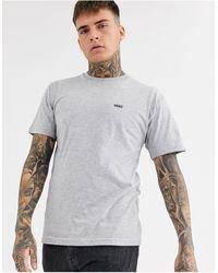 Vans T-shirt grigia con logo piccolo - Grigio