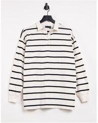 ASOS Oversized Polo T-shirt - White