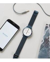 Skagen Connected Skt1107 Hagen Hybrid Smart Watch - Blue